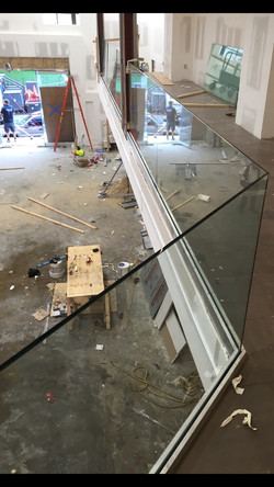 Commercial Interior glass