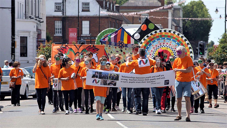 Creative Kites at Newmarket Carnival
