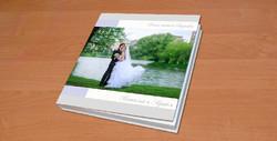 Свадебная фотокнига, обложка