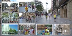 Фотокнига Испания, разворот