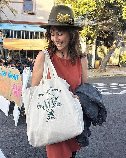 Her Urban Herbs Tote!