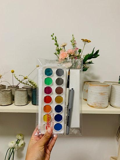 Paint House Watercolor Kit