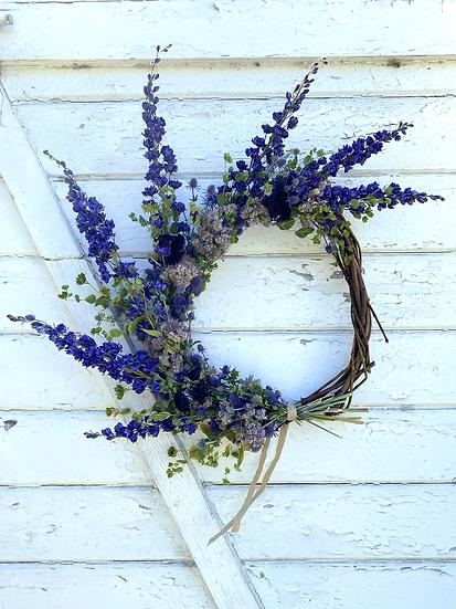 Dried Wreath by Betoken Blooms