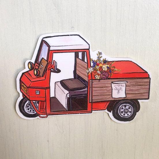 Demetermaid Sticker