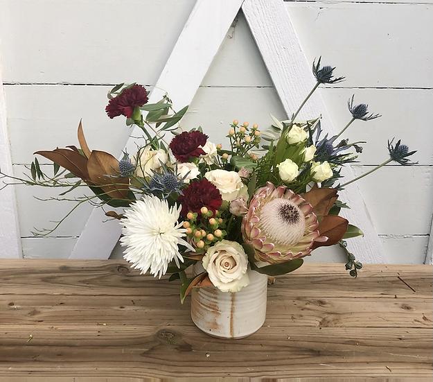MMclay Vase Arrangement