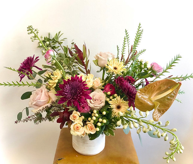 MMclay Vase Arrangement