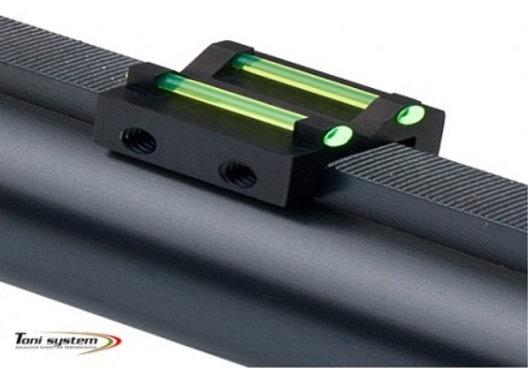 REAR SIGHT FOR SHOTGUN RIB OVER 8.1 MM - TONI SYSTEM