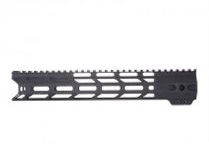 "Alpha Z-One AR-15 M-Lok Free-Float Rail Handguard 12"""
