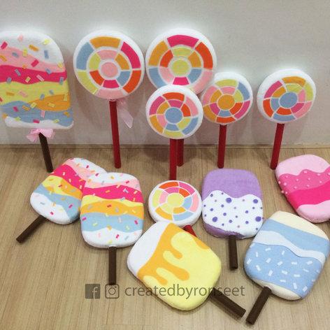 Lollipop's Soft props