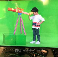 """""""天文望远镜"""" 儿童道具"""