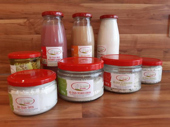 Unsere Ziegenmilchprodukte