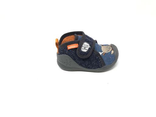 Pantofola Primo Passo Biomecanics Blu (201170)
