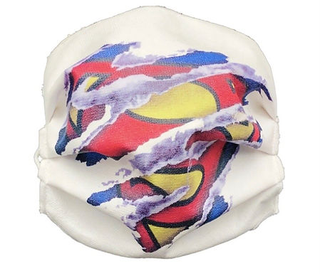 Mascherina da bambino Superman