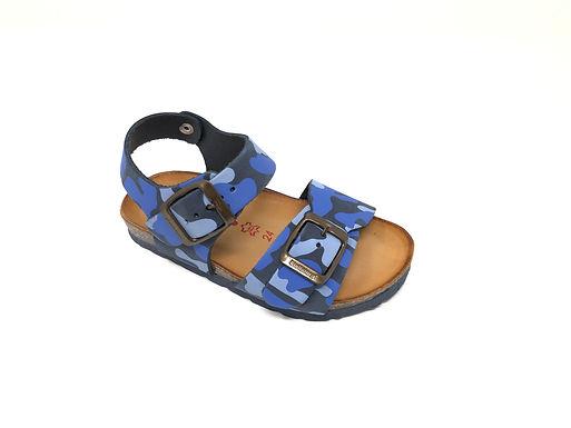 Sandalo Bio da bambino mimetico BioNatura (1002)