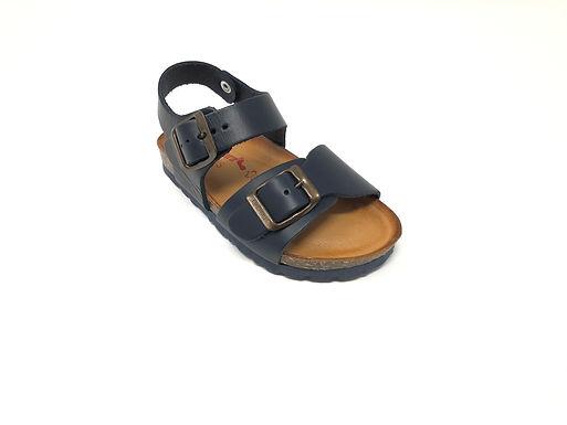Sandalo Bio da bambino BioNatura (1002-blu)