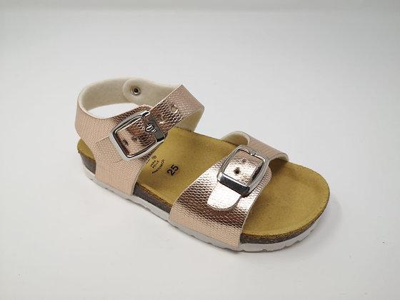 Sandalo da bambina cipria dal 24 al 29 (GM40A-R)