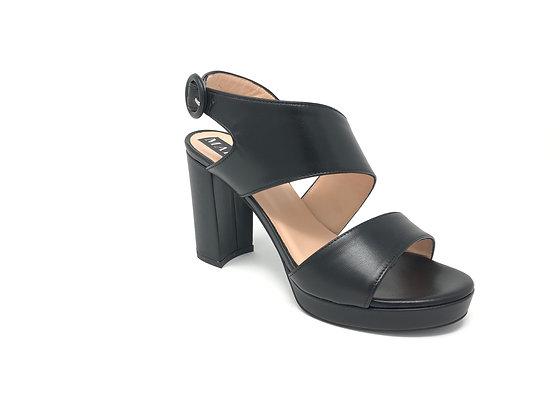 Sandalo da donna nero Martino (20302)