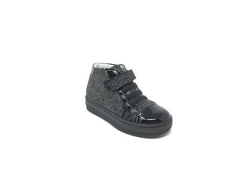 Sneakers da bambina ideali per i primi passi in vera pelle Made in Italy (9392)