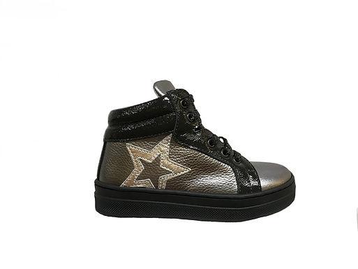 Scarpa sneaker Bambina Martino in vera pelle made in italy con plantare (9206)