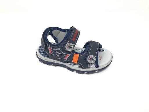 Sandalo da bambino blu dal 25 al 29 SuperJump (SJ2020)