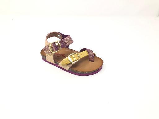 Sandalo Bio da bambina BioNatura (1004)