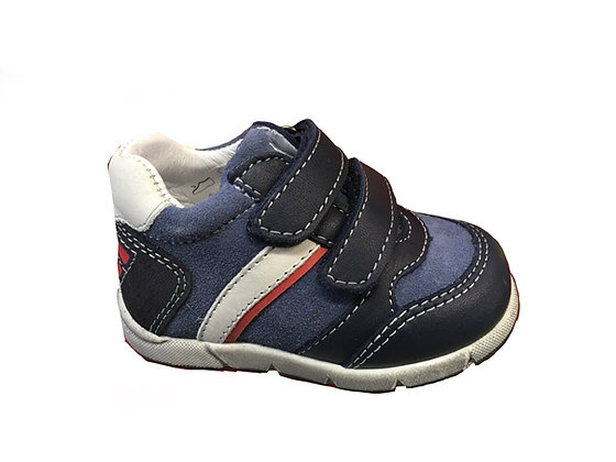 Scarpa Bambino balocchi in pelle blu (991140)