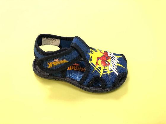 Sandalo in tela da bambino Spiderman chiuso in punta (SPP4340-09)