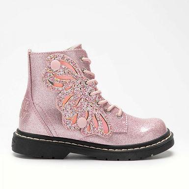 LelliKelly Ali di Fata rosa Glitter (LK5544)