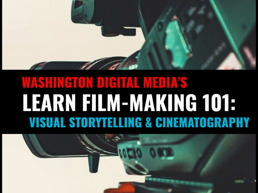 🎞️ FILM-MAKING 101: VISUAL STORYTELLING & CINEMATOGRAPHY 🎞️