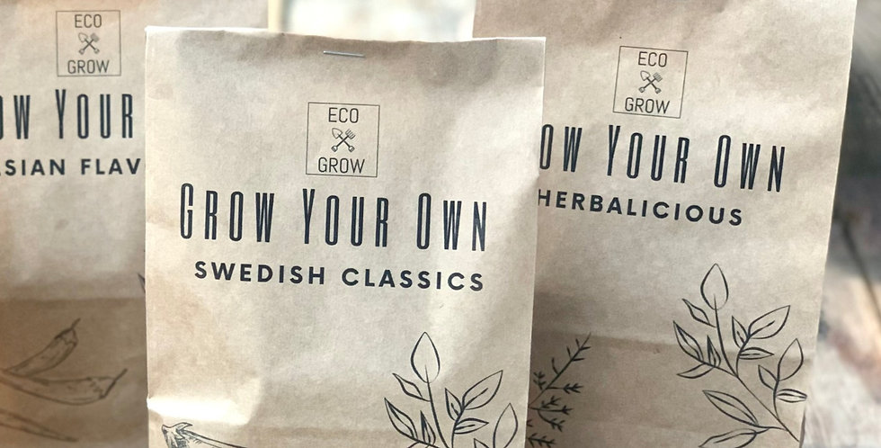 GROW YOUR OWN HERBALICIOUS
