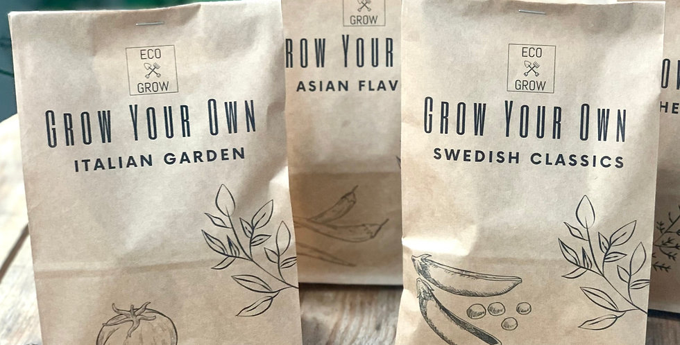 GROW YOUR OWN ASIAN FLAVORS