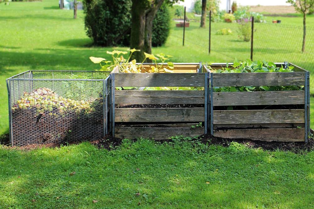 egen kompost - både miljövänligt och roligt