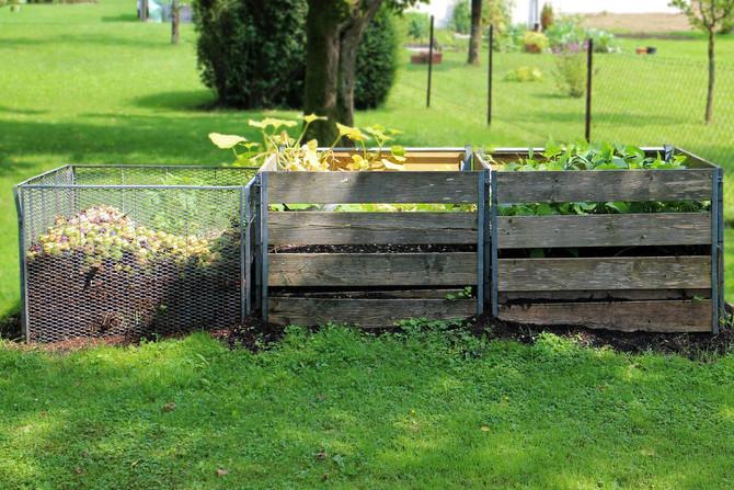 Gör din egen kompost - både miljövänligt och roligt