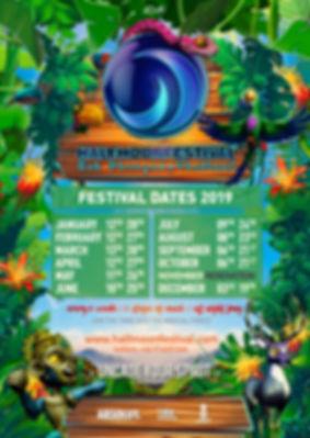 Halfmoon Festival dates 2019