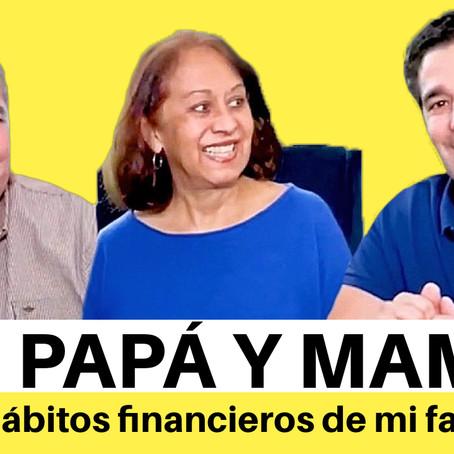 Hablé con mis padres sobre hábitos de dinero en la familia