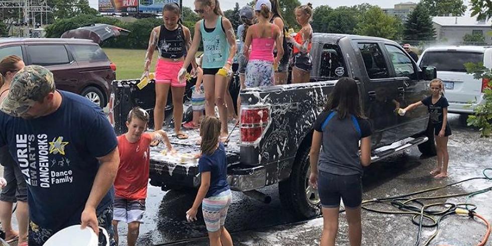 L.E.D Car Wash Fundraiser