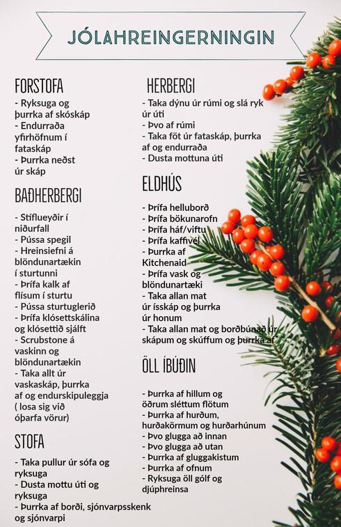 Hildur - Jólaþrifin 2017 með Bona