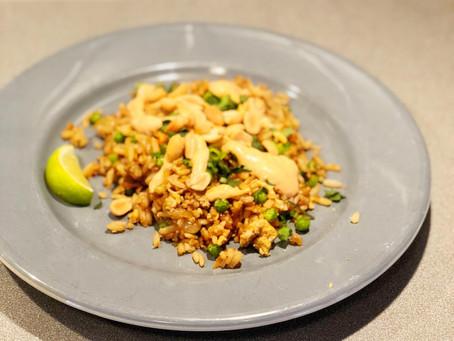 Hildur - Steikt hrísgrjón / Fried rice