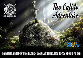 Gents Camp Father and Sons 2020 website.