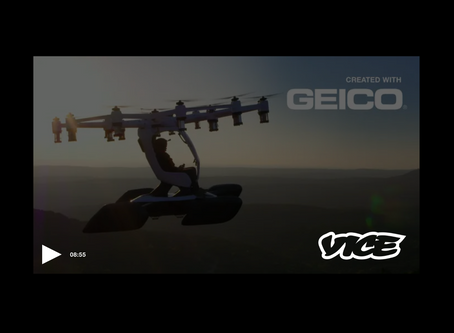 Do I want to drive to work or fly? LIFT on Vice.