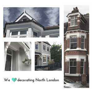 Painter Muswell Hill Exterior Painting