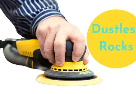 Why choose a decorator who does Dustless Sanding?