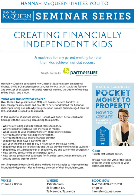 Creating Financially Independent Kids