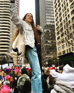 Women's March, NYC