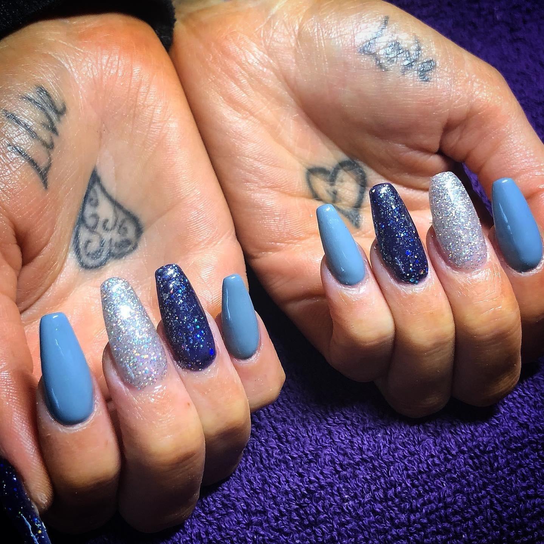blue coffin