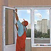 Монтаж пластиковых окон при ремонте квартир
