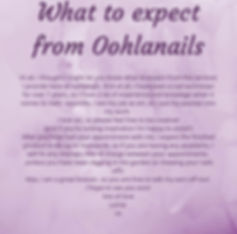 What to expect from oohlanails | nail services