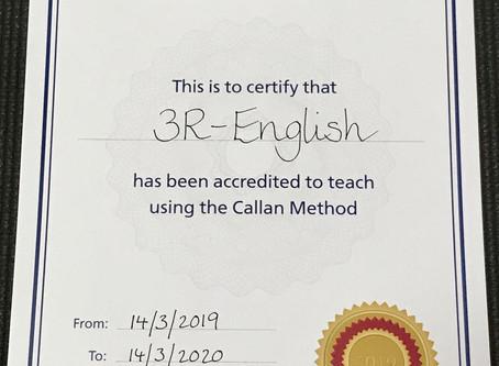 3R Englishはカランメソッド正式認定校です