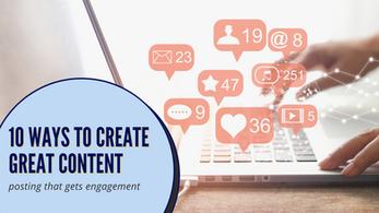 10 Ways to Make Social Media Posts that Get Engagement