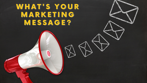 Creating a Core Marketing Message